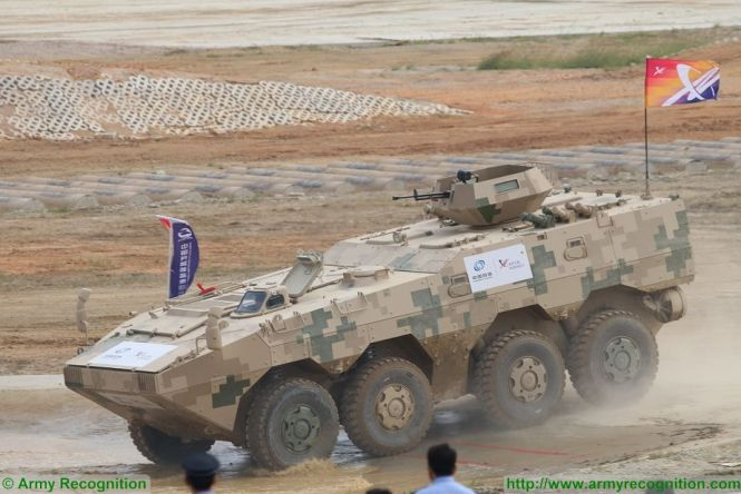 Zfb05a Light Wheeled Armoured Combat Vehicle Technical Data Sheet Information Description Intelligence Pictures Photos Images China