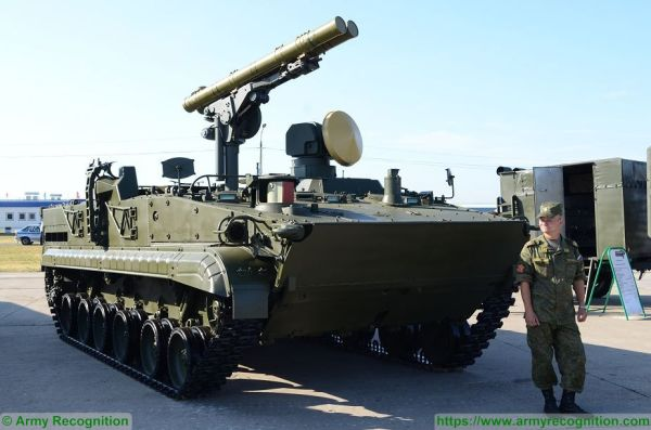 BMP-3 Khrizantema Khrizantema-S 9P157 technical data sheet ...