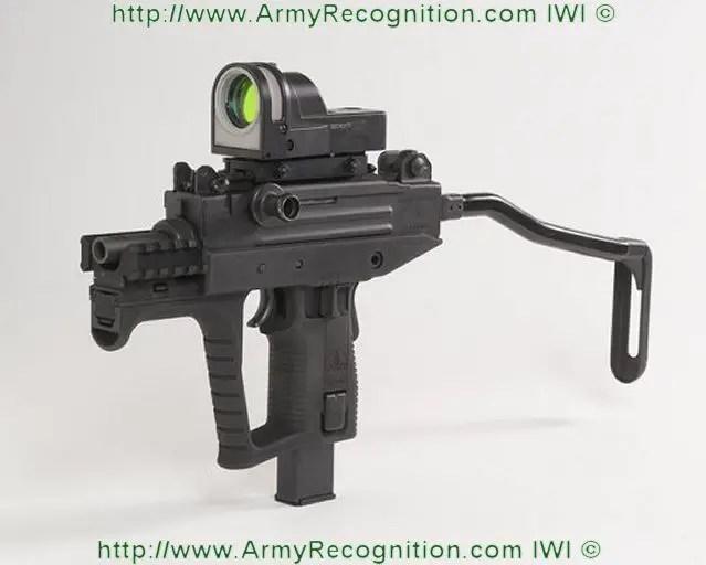 The New Uzi Pro Smg Sub Machine Gun From Iwi Israel Weapon