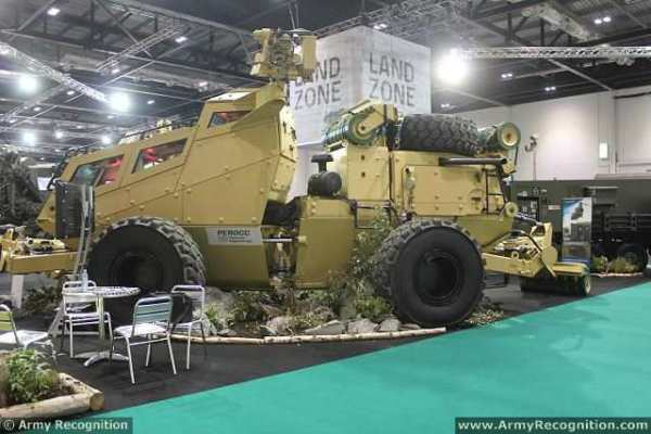 Record land systems display at DSEI 2015 International ...