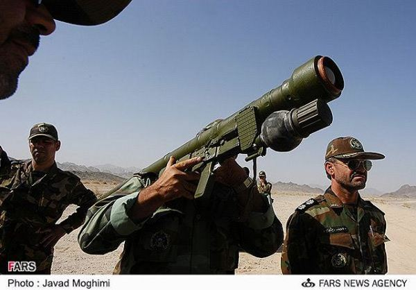 Misagh-2 man portable air defence missile system technical ...