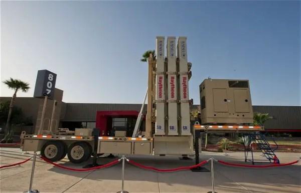 Israeli-made David Sling air defense missile system will ...