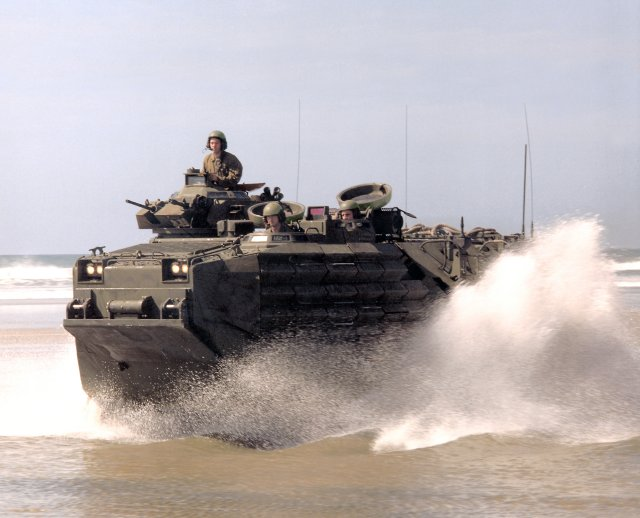 BAE Systems to produce new Assault Amphibious Vehicles AAV for Japan 640 001