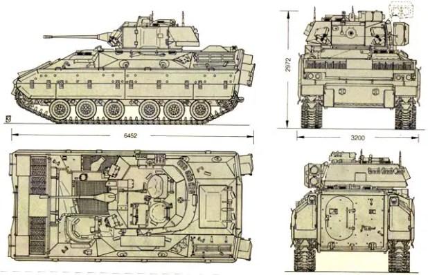 Bradley Fighting Vehicle Interior Pictures