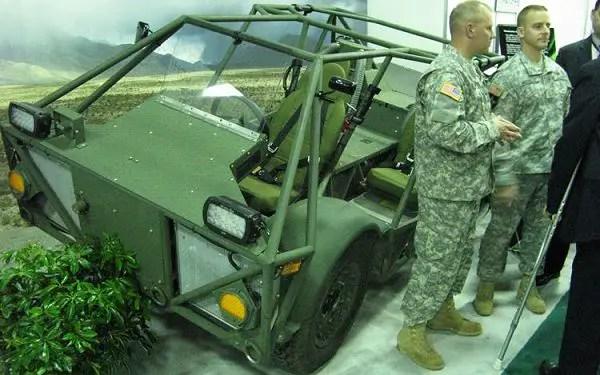 CERV Clandestine Extended Range Vehicle data sheet ...