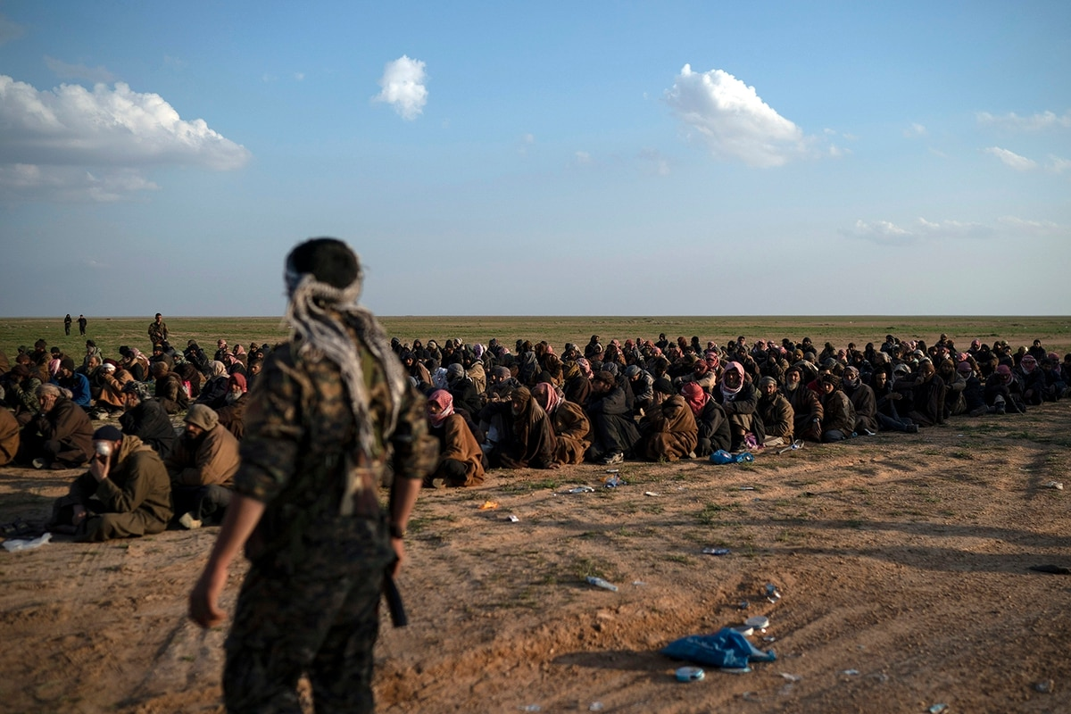 Image result for Islamic State group: Syria's Kurds call for international tribunal