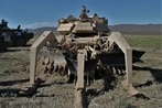 Dirty work: Robots take on complex obstacles in US Army exercise