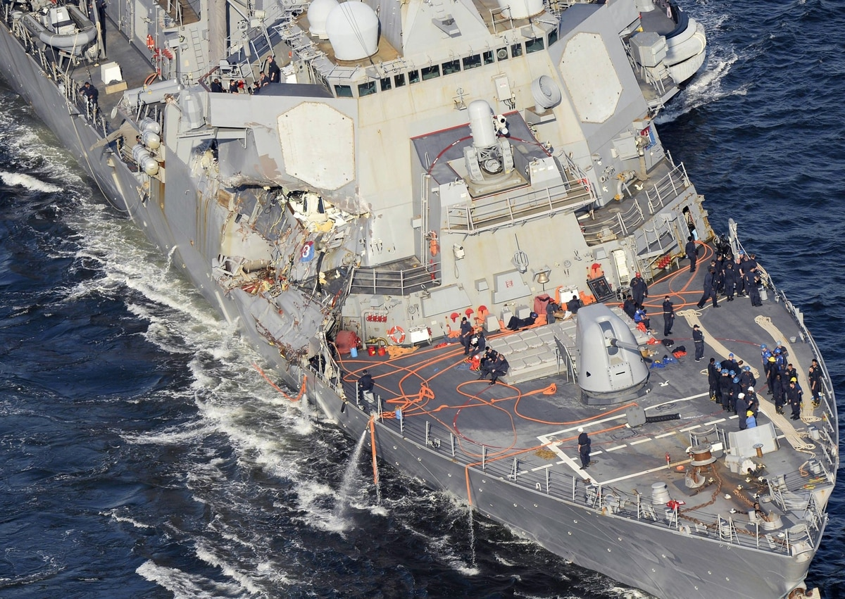 Fitzgerald Crew S Heroic Efforts Saved Their Ship From