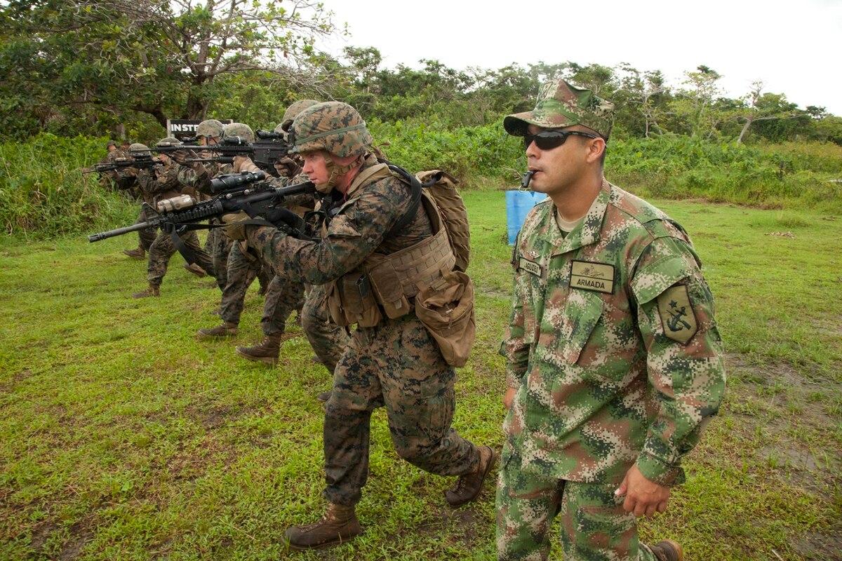 Colombian Marines Spread Usmc Doctrine