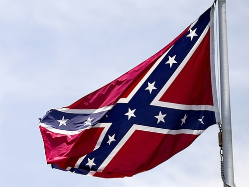 The Confederate battle flag is now effectively banned from almost all places on military installations. (David Goldman/AP)