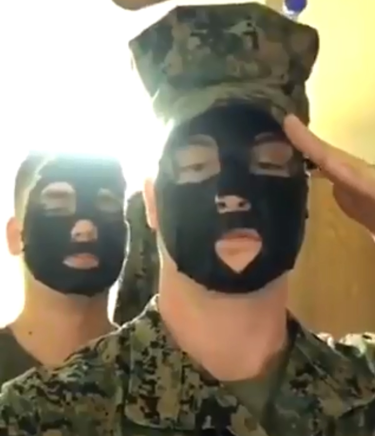 The Corps Is Investigating Alleged Blackface Video
