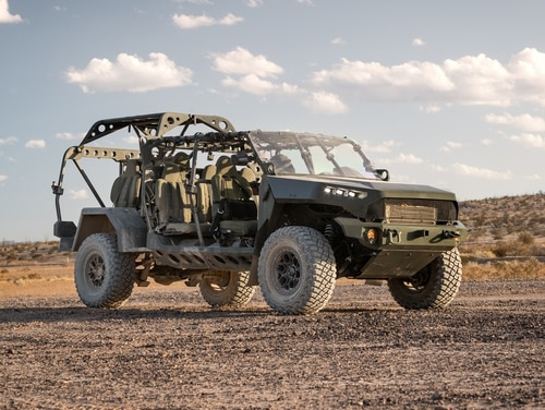 GM Defense has been awarded a contract to produce the Army's new Infantry Squad Vehicle. (General Motors)