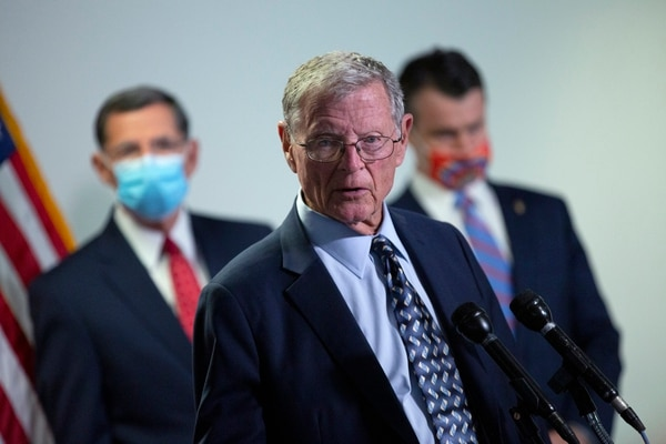 U.S. Sen. Jim Inhofe, R-Okla., is the chairman of the Senate Armed Services Committee. (Photo by Stefani Reynolds/Getty Images)