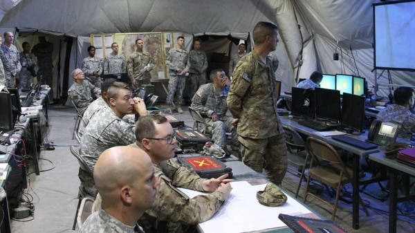 Modernizing the network is one of the top priorities for the U.S. Army. (Amy Walker/U.S. Army)
