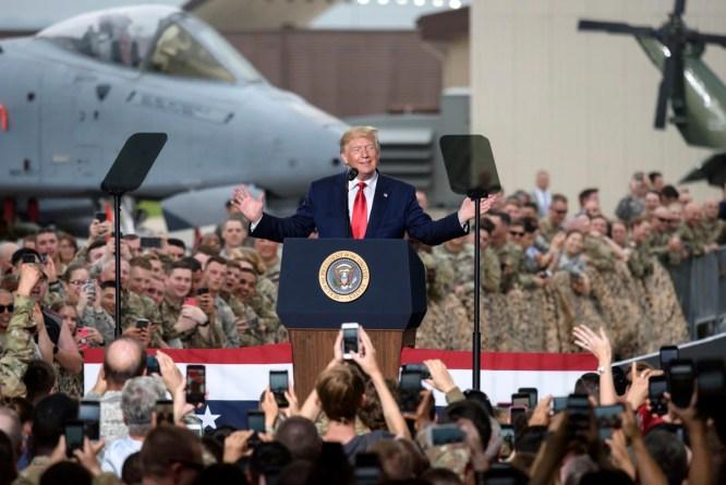 Image result for US Armed Forces STronger Under Trump