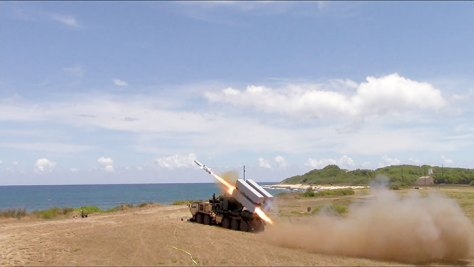 Naval-missile-launch