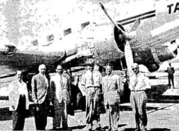 Αεροπειρατεία 1948, 12 Σεπτεμβρίου