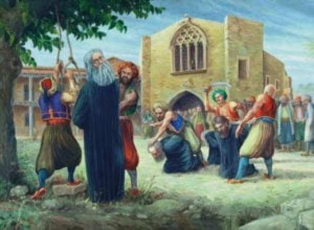 Απαγχονισμός - Κυπριανός, 9 Ιουλίου