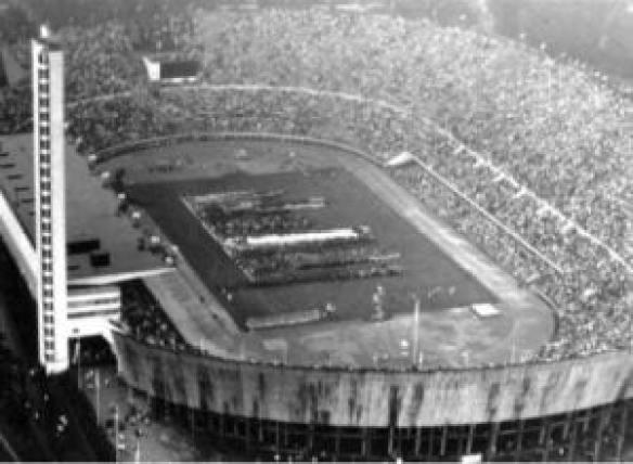 Τελετή έναρξης Ολυμπιακών Αγώνων 1952, 19 Ιουλίου