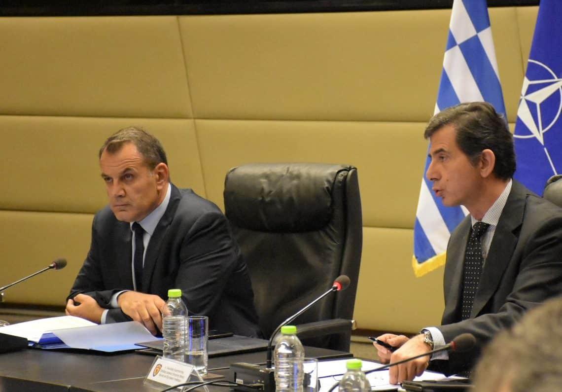 Νίκος Παναγιωτόπουλος: Προχωράνε F-16, Mirage-200 και NH-90 σύμφωνα με την ενημέρωση του ΥΕΘΑ στην Επιτροπή Άμυνας της Βουλής.