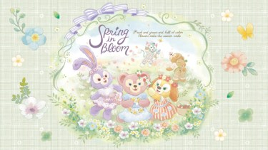 【TDS】4/1「Spring in Bloom」がスタート!お花にかこまれたダッフィーたちのスペシャルメニューやグッズ、購入方法を紹介【ダフフレ】