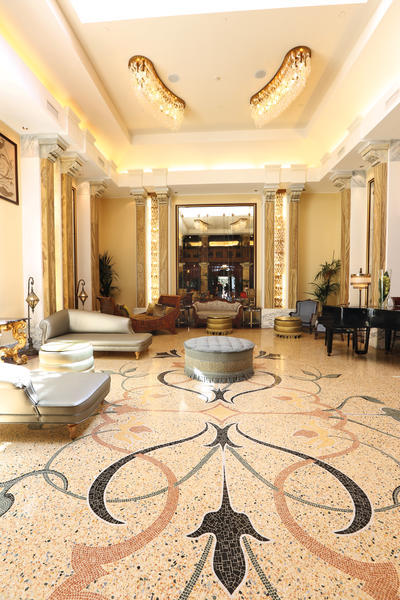 Entrance Furnishing Hotels Luxury D 233 Cor Wainscoting