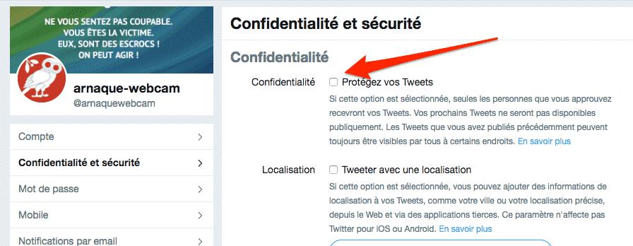 Comment protéger son compte Twitter ?