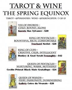 Tarot & Wine - Spring Renewal Tasting