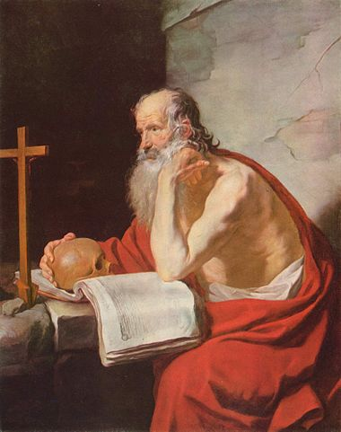 """Saint Jerome"" by Jacques Blanchard, 1632. Image courtesy of Wikipedia Commons."