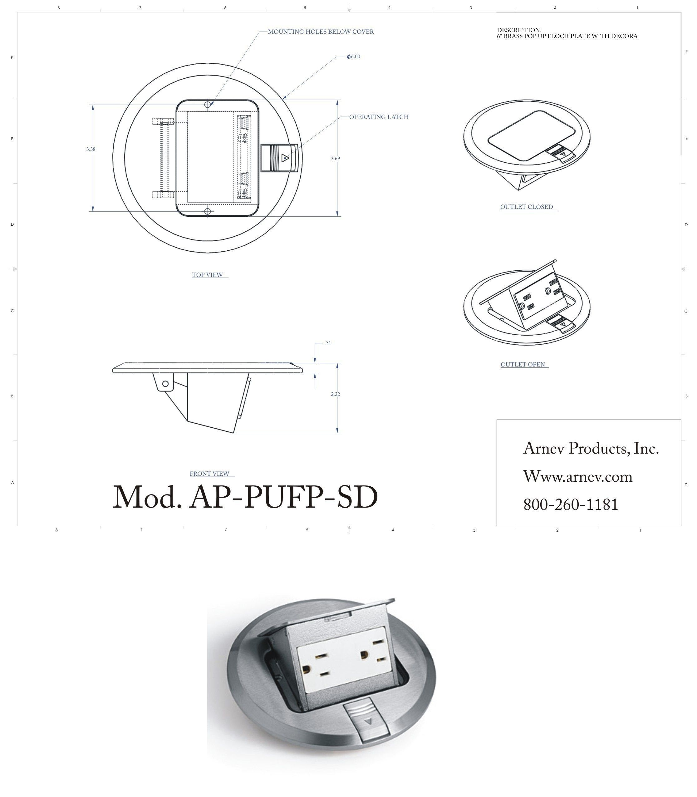 Ap Pufp Sd Stainless Cover