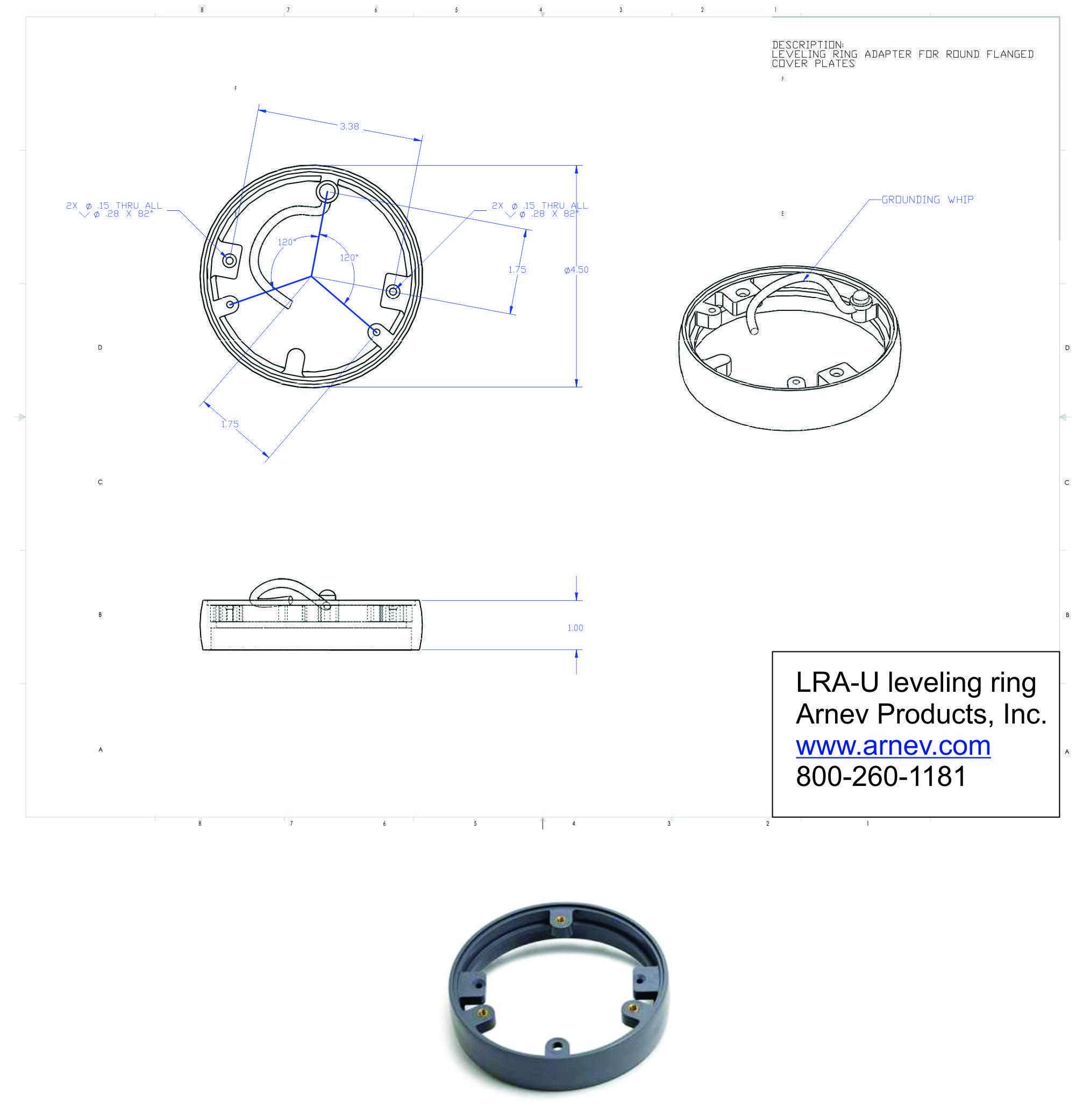 Ap Lra U Universal Leverling Ring