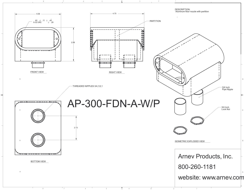 Ap Fdn 300 A W P Tombstone