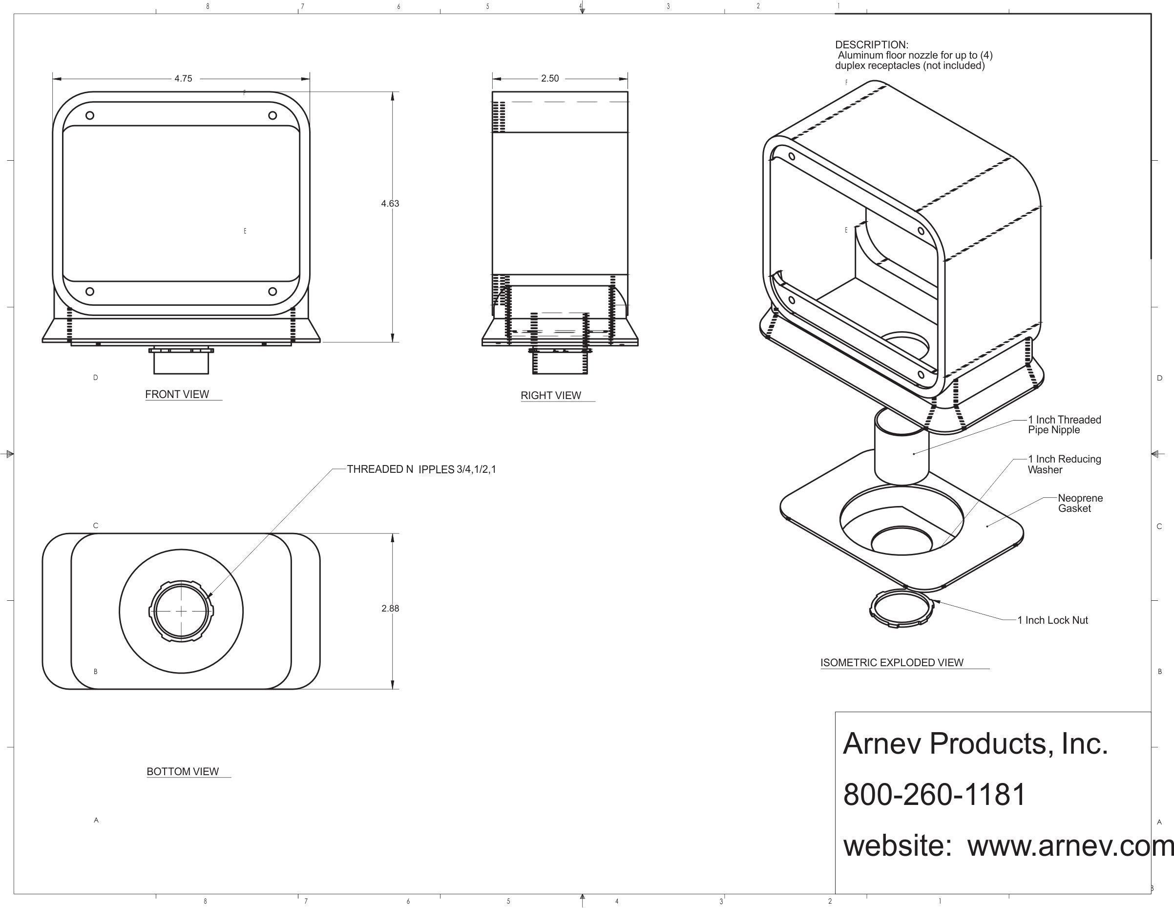 Ap 709 A Tombstone Tombstone Floor Boxes
