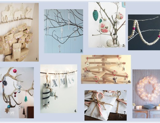 Christmas decorations mood board