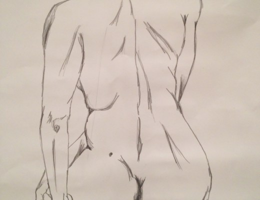 life drawing model