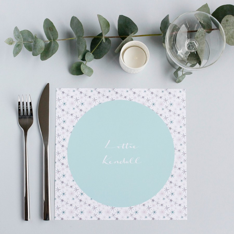 Personalised placemats - Uplevel your next dinner party, wedding or ...