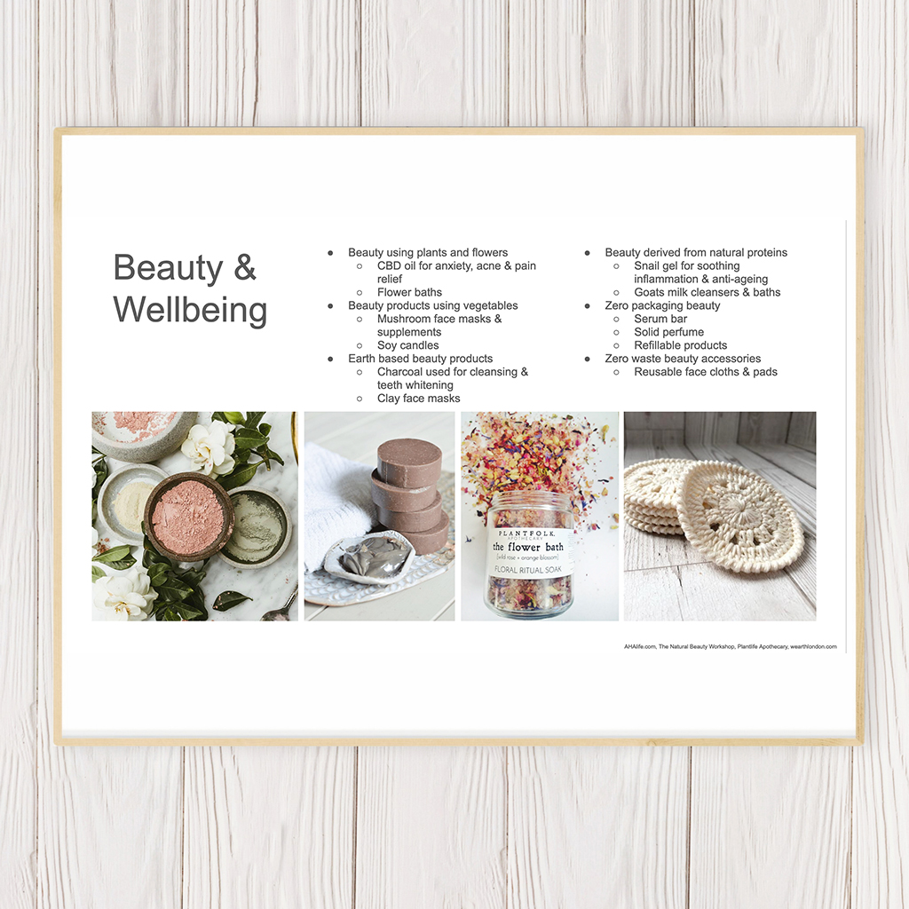 Beauty & Food 2020 Trend Guide – Instant PDF Download & Recording