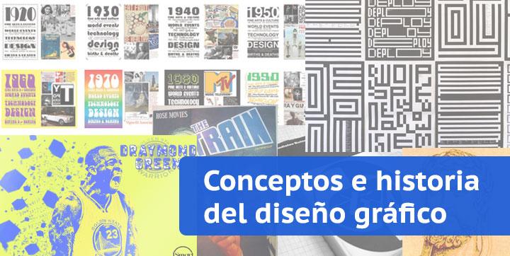 conceptos historia diseño gráfico