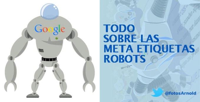 meta etiquetas robots