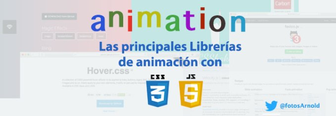 prinicipales librerias animacion css3 2d
