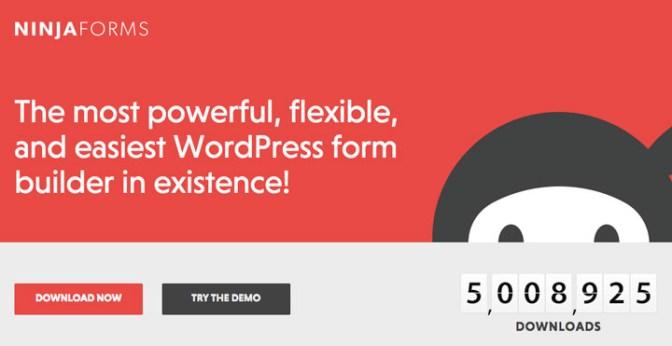 ninja form plugin formulario contacto wordpress