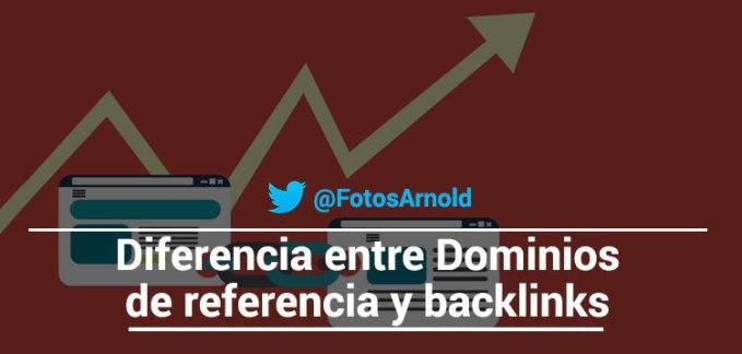 diferencia dominio referencia backlinks