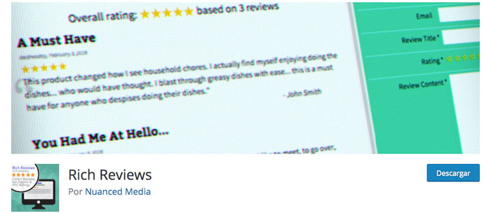 rich reviews wordpress plugin