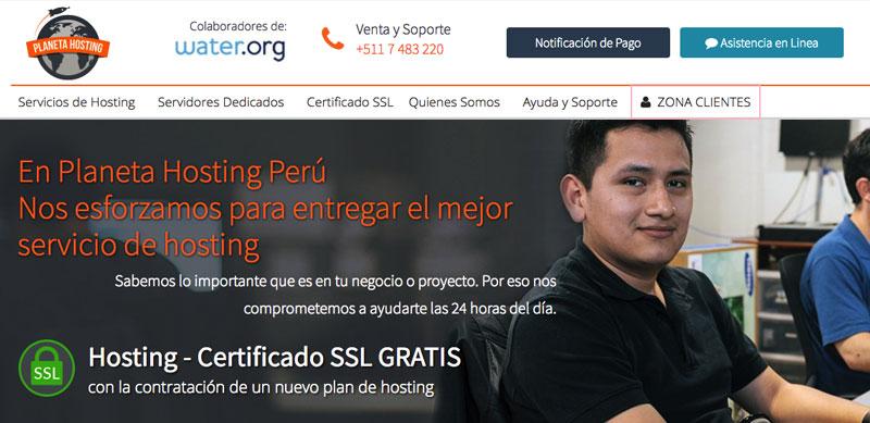 planeta hosting proveedor hosting peru