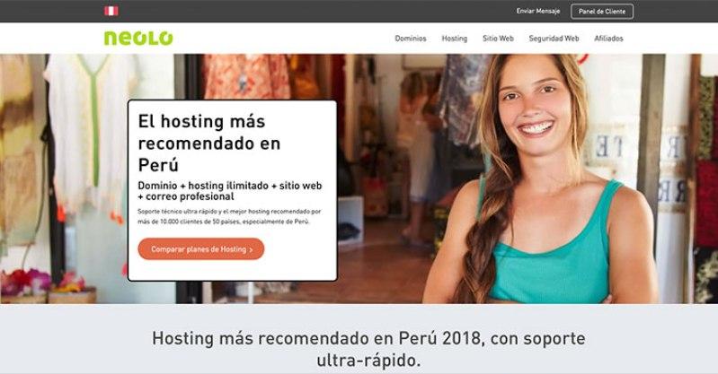 neolo proveedores hosting peru