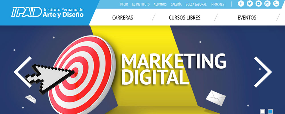 curso marketing digital ipad peru