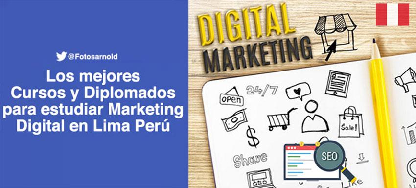 estudiar cursos diplomados marketing digital lima peru