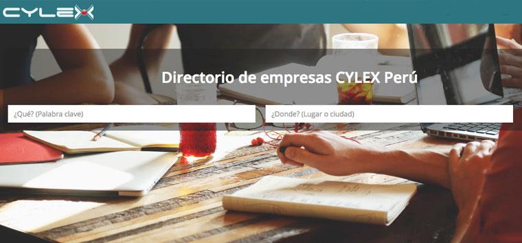 cylex directorio empresas peru
