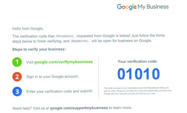 verificar google my business