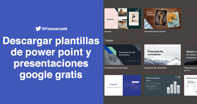 descargar plantillas powerpoint google gratis